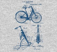 Bicycle Front Suspension Bike 1890 Blackledge by SportsT-Shirts