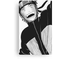 Realistic Naruto Mangacap Canvas Print