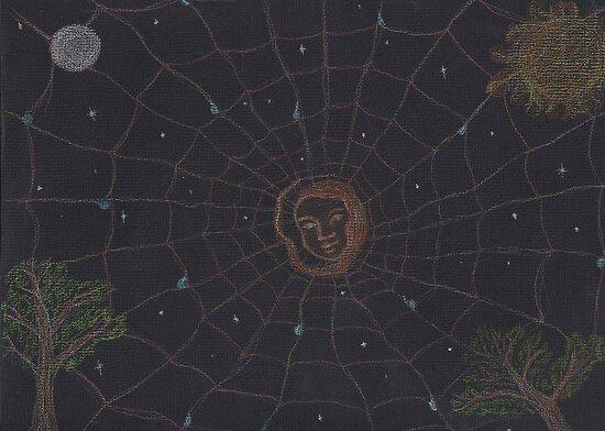 Goddess - Spider Woman by Paola Suarez