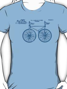 Tandem Bike Velocipede 1891 Peck T-Shirt