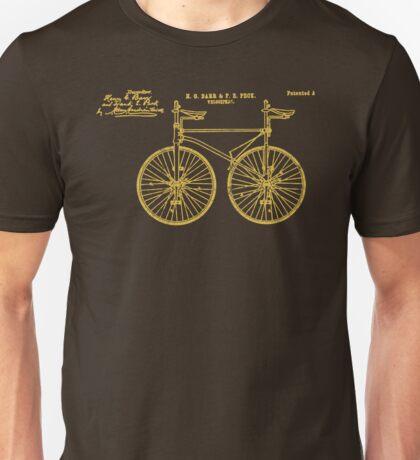 Tandem Bike Velocipede 1891 Peck Unisex T-Shirt