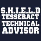 S.H.I.E.L.D Tesseract Technical Advisor by GenialGrouty