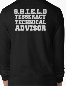 S.H.I.E.L.D Tesseract Technical Advisor Long Sleeve T-Shirt