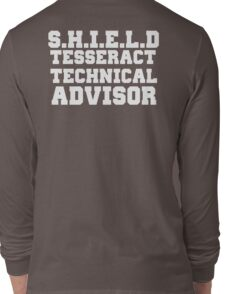S.H.I.E.L.D Tesseract Technical Advisor Long Sleeve T-Shirt