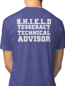 S.H.I.E.L.D Tesseract Technical Advisor Tri-blend T-Shirt