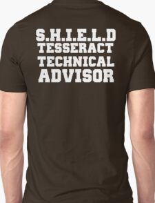 S.H.I.E.L.D Tesseract Technical Advisor T-Shirt
