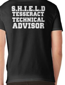 S.H.I.E.L.D Tesseract Technical Advisor Mens V-Neck T-Shirt