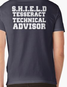 S.H.I.E.L.D Tesseract Technical Advisor Mens V-Neck T-Shirt
