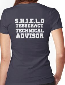 S.H.I.E.L.D Tesseract Technical Advisor Womens Fitted T-Shirt