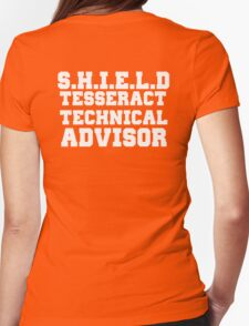 S.H.I.E.L.D Tesseract Technical Advisor Womens Fitted T-Shirt