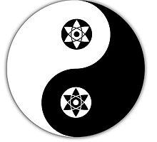 Sasuke yin and yang by foggraven