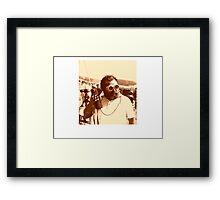 Sergio Leone Framed Print