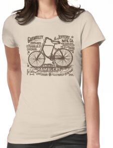 Bike Cycling Bicycle  Womens Fitted T-Shirt