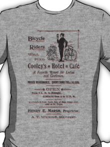Vintage Bike Cycling Bicycle  T-Shirt