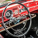 1959 Volkswagen Super Beetle 1300 interior by Chris L Smith