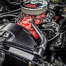 Chevy 327  V8 engine by Chris L Smith