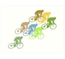 Bike Cycling Bicycle  Art Print