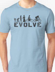 Bike Vintage Women's Evolution of Cycling Evolve T-Shirt