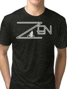 Bike Cycling Bicycle ZEN Tri-blend T-Shirt