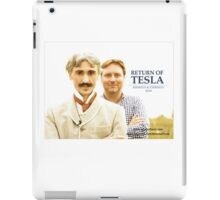 Return of Tesla Poster Image iPad Case/Skin