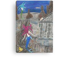 Sea Temples Canvas Print