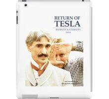 Return of Tesla Poster Image 2 iPad Case/Skin