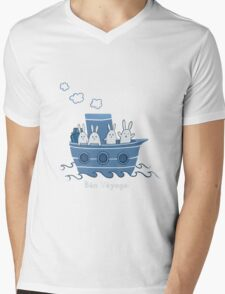 Bon Voyage! Mens V-Neck T-Shirt