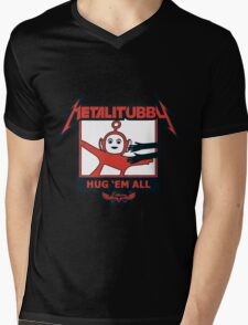 Melalitubby: Hug Em' All Mens V-Neck T-Shirt