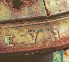 Chevy Patina Sticker