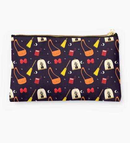 A Young Witch and Her Broom Studio Pouch