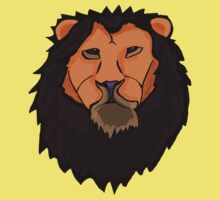 Golden Lion One Piece - Short Sleeve