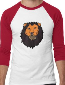 Golden Lion Men's Baseball ¾ T-Shirt
