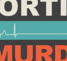 Abortion Is Murder Sticker