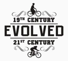 Bike Women's Cycling Evolution by SportsT-Shirts