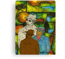 The Musician: Mind-Body-SOUL Canvas Print