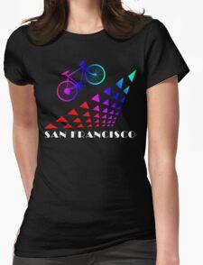 Bike San Francisco Womens Fitted T-Shirt