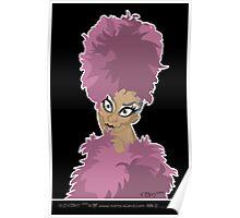 FLUFF: PINK. Poster