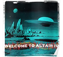Welcome To Altair IV Poster