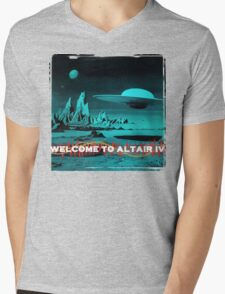 Welcome To Altair IV Mens V-Neck T-Shirt