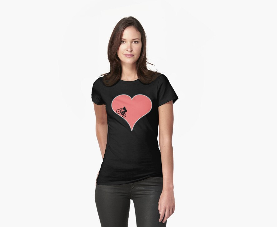 Love Biking Cycling by SportsT-Shirts