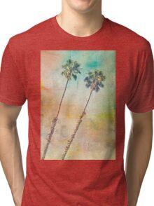 Pastel Palms Tri-blend T-Shirt