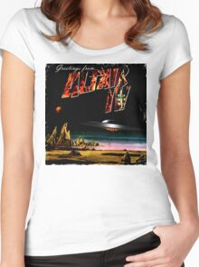 Greetings from Altair IV Women's Fitted Scoop T-Shirt