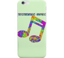 Psychedelic Rock 3 iPhone Case/Skin