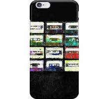 Cassettes #3 iPhone Case/Skin