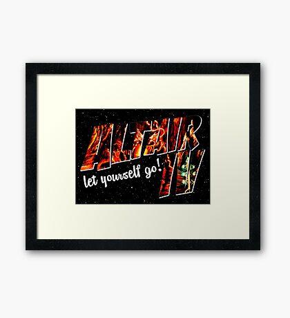 Altair IV Framed Print