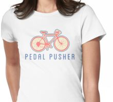 Biking Cycling Pedaling Womens Fitted T-Shirt