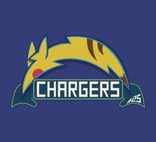 San Diego Chargers Pokemon Mashup by Brandon Scribner