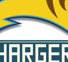 San Diego Chargers Pokemon Mashup Sticker