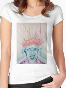 Stress Women's Fitted Scoop T-Shirt