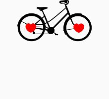 Love My Bike Cycling Bicycle Womens Fitted T-Shirt